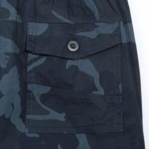 Image 5 - 2020 yeni Joggers erkekler sıcak satış rahat kamuflaj pantolon Homme yaz % 100% pamuk elastik rahat pantolon erkekler artı boyutu 5XL
