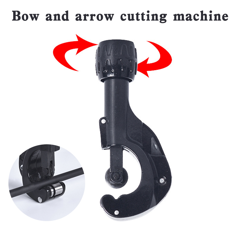 Archery Hunting Accessory Universal Arrow Cut off Saw Trimmer Arrow Cutter Cutting Arrows Tools for Carbon and Fiberglass(China)