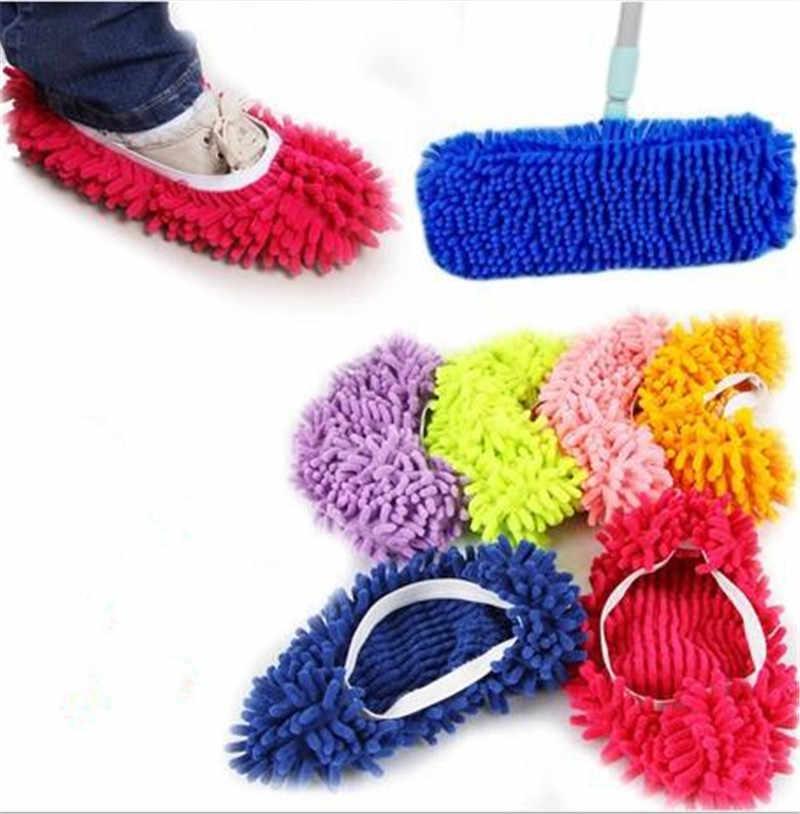 1 قطعة ستوكات ممسحة أرضيات تنظيف كسول غامض النعال المنزل المنزل الأرضيات أدوات الأحذية الحمام المطبخ الأنظف