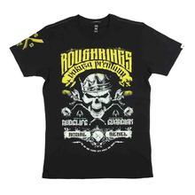 Yakuza Premium T-Shirt 2304   YPS Black Mens Rough Kings Bathroom Guardian- show original titleShort Sleeves 100% Cotton