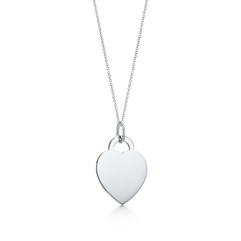 Bulgaria Love A round pendant necklace Original 100 925 Sterling Silver Women Free Shipping Jewelry High end Quality Gift in Chain Necklaces from Jewelry Accessories