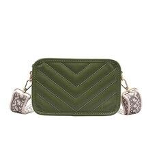Fashion Wide Shoulder Strap Messenger Bag Versatile Camera Embroidery Line Shoulder Bag Bags for Women 2019 цена и фото