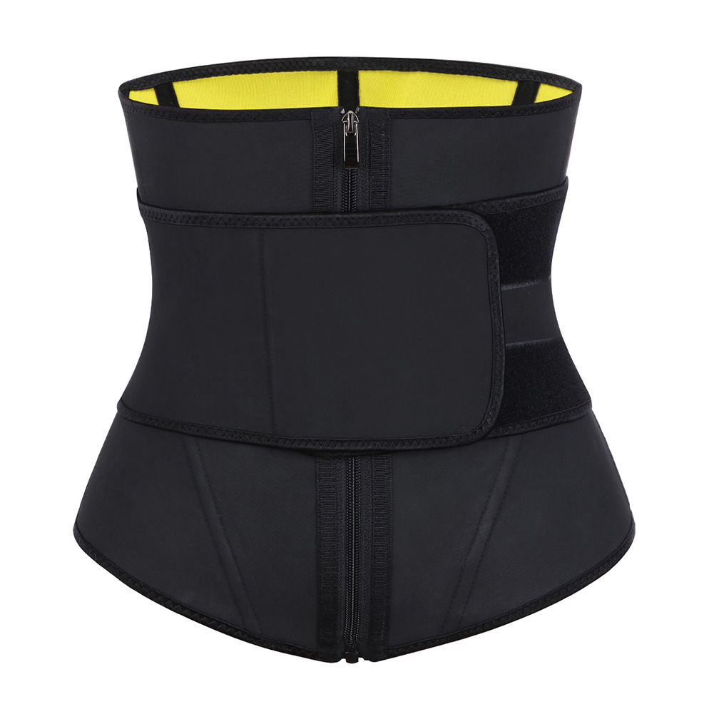Lover-Beauty Sauna Sweat Waist Trainer 9 Steel Bone Slimming 1