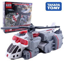 TAKARA TOMY Action Figure Speed Rescue Children Gifts Doll Toys Transformation TOMICA Rescue Helicopter Toy tomica бежевый