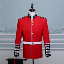 British Royal Guards Honour Guard Performance Dress Band Soldiers Red Performing Uniform of Army Officer