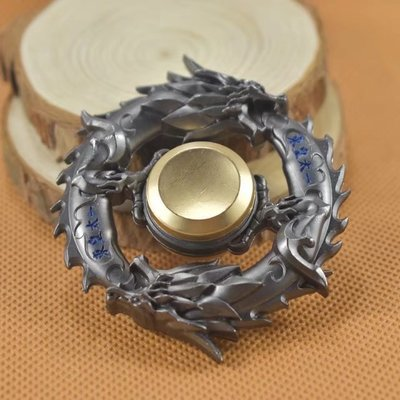 Gyro Fidget-Spinner Autism ADHD Fingertip Dragon Metal EDC Focus-Stress for And Rotary