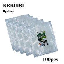 100PCS  vacuum sealer Plastic Storage bag for vacuum sealing machine for pack food saver Packaging Rolls packer