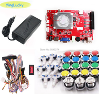 yinglucky Pandora key 7 2263 in 1 arcade console game 2 players can add games HDMI VGA usb joystick for pc video game