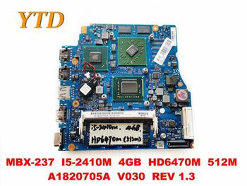 Original for SONY MBX-237 laptop motherboard MBX-237 I5-2410M 4GB HD6470M 512M A1820705A V030 REV 1.3 tested good free image