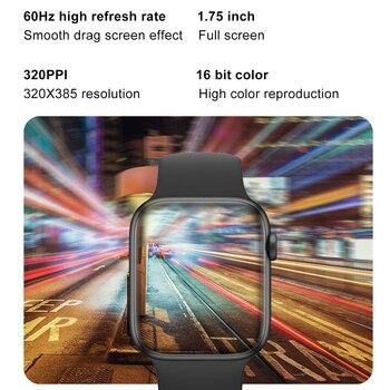 LEMFO DT100 Plus Better Than W37 Smartwatch Women Smartwatch iwo 13 pro Bluetooth Call Heart Rate Monitor Smart Watch Men 3