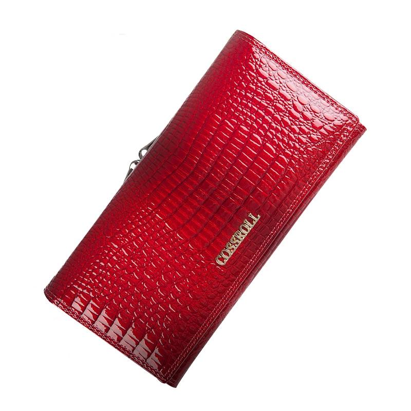 Fashion Women's Wallet Leather Long Style Multi-functional Purse Pocket Fashion Crocodile Pattern Ladies Clutch Bag Wallets