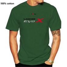 Tee shirt personnalise Lancer Evolution X S M L XL XXL homme Evo 10