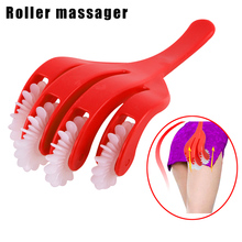 Hip Massager Roller Slimming Rolling Anti Cellulite Beauty Health