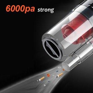 150W 6000PA Auto Staubsauger Nass/Trocken Tragbaren Handheld Staubsauger mit 4,5 M Power Kabel für auto Starke Leistung Saug