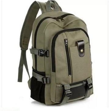 2019 New Unisex Vintage Canvas Backpack Satchel Rucksack School Bag Large Capacity Travel Camping Bag