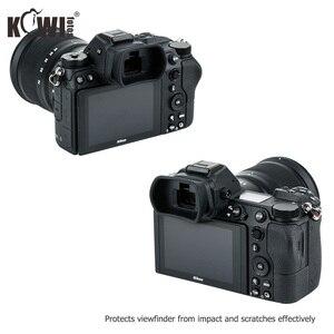 Image 5 - Kiwiนุ่มซิลิโคนExtendedกล้องEyecupช่องมองภาพสำหรับNikon Z5 Z7 Z6 Z6II Z7IIยาวEye Eye Eyeshadeแทนที่DK 29