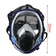 Respirator-Kit Gas-Mask Spray Painting Pesticide-Chemical Fire-Protection Full-Face