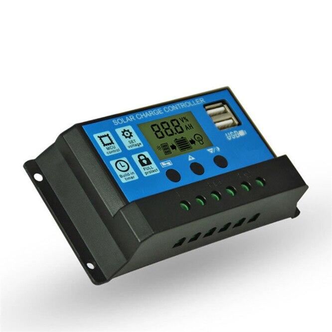 24v controlador de carga solar automático 10