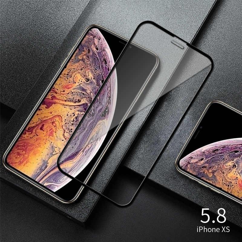 2in1 9D الزجاج الأسود آيفون 7 8 6 6S زائد كاميرا حامي الشاشة آيفون 12 12 Mini X XR XS ماكس الزجاج على آيفون 11 برو