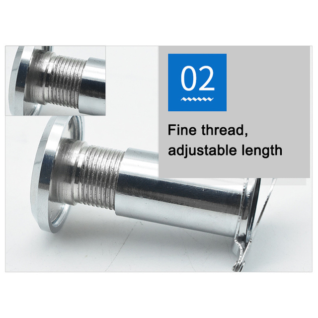 Stainless Steel Door Viewer with Cover One Way 180-220 Degree Peep Hole for Home Office DNJ998