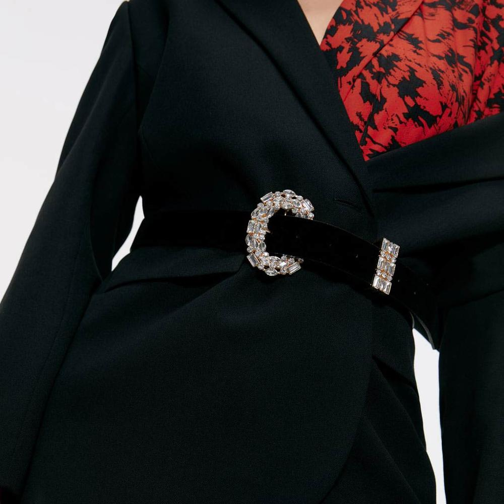 Girlgo 2019 cinto de cristal do vintage para as mulheres moda cinto acessórios do corpo jóias lazer vestido presentes ceinture femme bijoux
