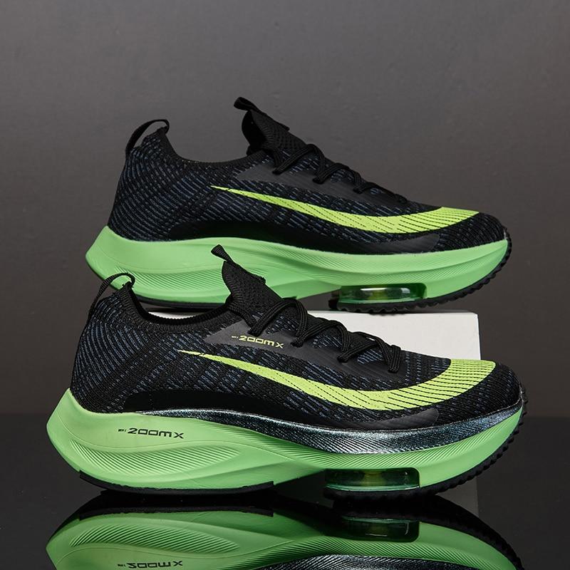 Los Nuevos Hombres Deporte Zapatos De Malla Transpirable Cómodo Al Aire Libre Correr A Atléticos Zapatillas De Deporte Zapatillas De Deporte De Hombre De Marca