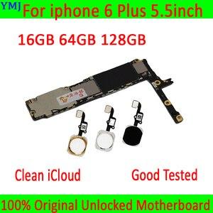 Image 1 - Có/Không Có Cảm Ứng ID Cho Iphone 6 Plus, năm 100% Ban Đầu Mở Khóa Cho Iphone 6 Plus Mainboard Với Đầy Đủ Chip