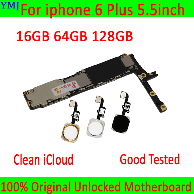 Có/Không Có Cảm Ứng ID Cho Iphone 6 Plus, năm 100% Ban Đầu Mở Khóa Cho Iphone 6 Plus Mainboard Với Đầy Đủ Chip