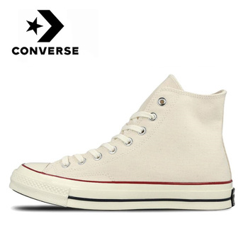 Authentic Converse All Star Chuck 1970s Comfortable High shoes man and women classic sneakers Durable White Flat Canvas Shoes