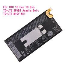 цена на Original Battery 3200mAh B2PYB100 For HTC 10 Evo,10 Evo TD-LTE,2PYB2, Acadia, Bolt TD-LTE, M10f, M11, For Spring Bolt TD-LTE