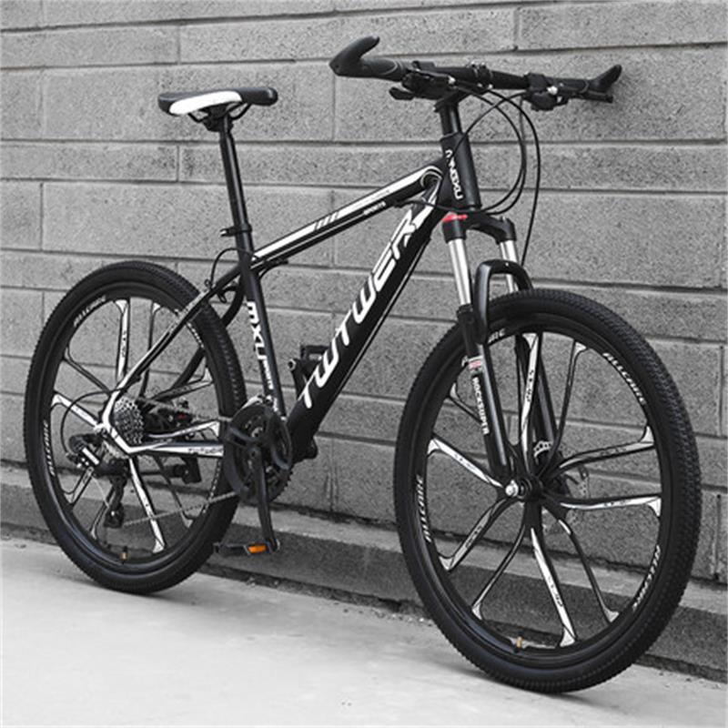 Roda de Equitação Homens e Mulheres Mountain Bike Faca Estudantes Corrida Juventude Amortecedor Bicicleta Dez Luz