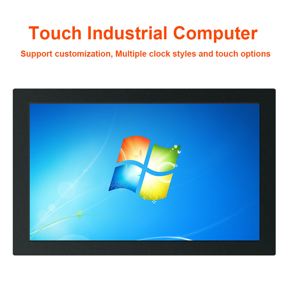 """17.3"""" 18.5 inch industries computer tablet pc Celeron J1900 All In One PC with touch screen windows 10 pro WiFi RS232 com"""