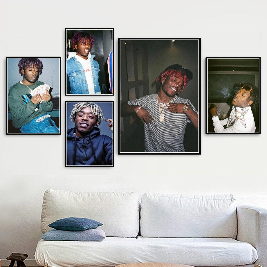 T-727 Hot New Playboi Carti Rapper Music Star Art Poster Canvas Silk Home Deco