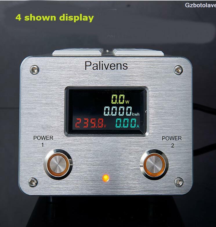 2019 novo modelo 2 interruptor de estrada 3000 w 15a ac tomada alimentação filtro avançado áudio proteger filtro
