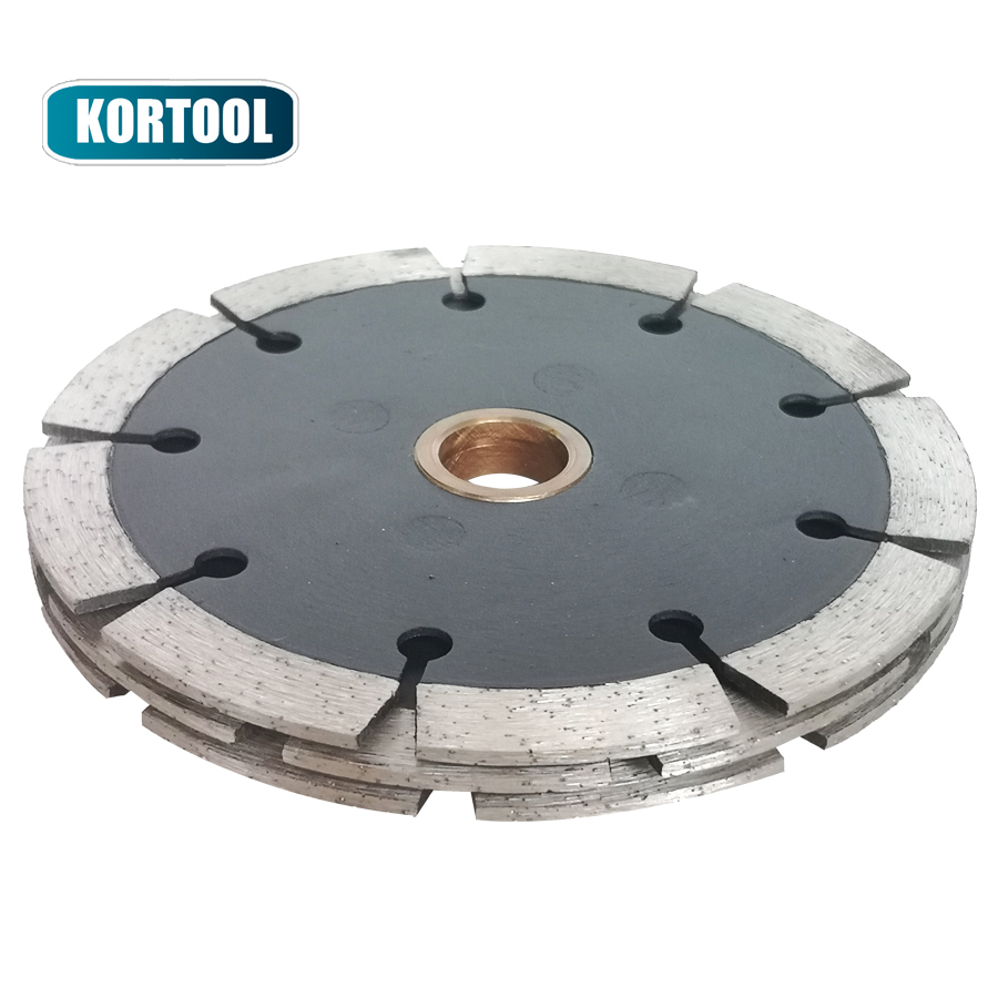 Triple Sandwitch Tuck Point Diamond BladeS Saw For Granite Grooving 115mm
