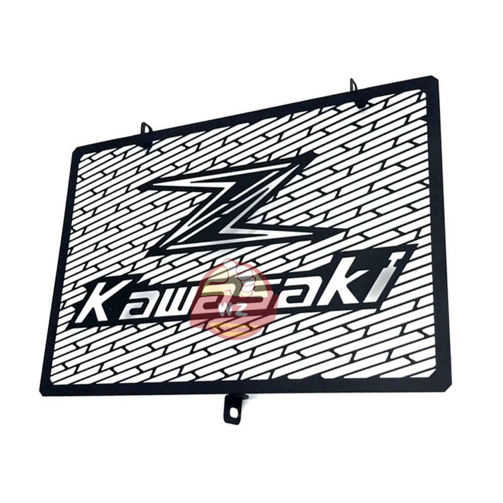 Motorcycle for <font><b>Kawasaki</b></font> Z750 Z1000 <font><b>Z1000SX</b></font> Z800 Motorcycle Accessories Stainless Steel Radiator Grill Protection 2017 <font><b>2018</b></font> 2019 image