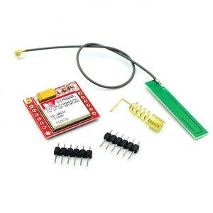 Image 4 - New SIM800L GPRS GSM Module w/ PCB Antenna SIM Board Quad band for Arduino