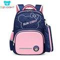 SUN EIGHT Новое поступление  Детский рюкзак  школьные сумки для девочек  первоклассный водонепроницаемый нейлоновый Рождественский подарок