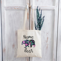 Mama Bear Graphic T Shirts Vintage Streetwear Tee 2019 Harajuku Tops Print O-Neck Thanksgiving Women Tshirt