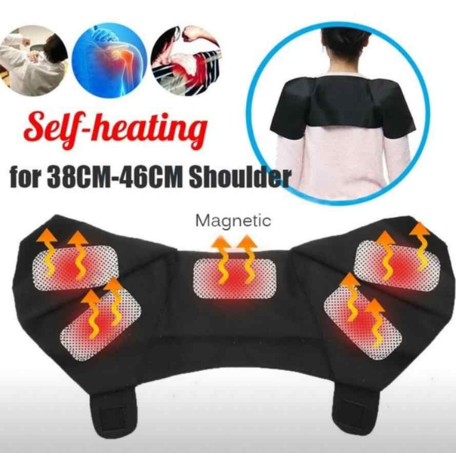 Tourmaline Self Heating Magnetic Therapy Shoulder Support Neck Pain Improve Periarthritis Shoulder Heating Belt Foot Care Tool
