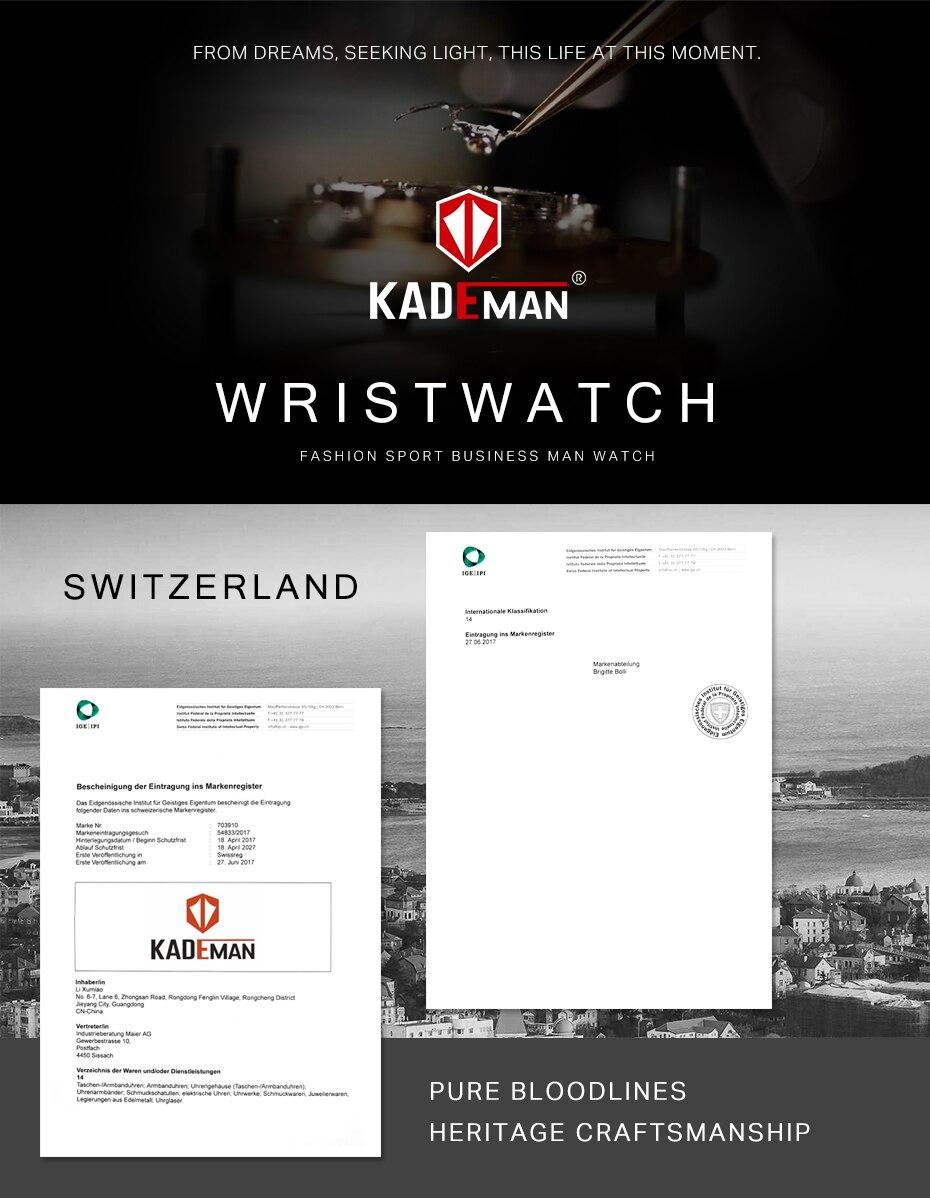 Kademan tecnologia relógio digital moda esportes homens