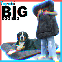 Pet Calming Large Dog Bed for Large Medium Dogs Bed House Fluffy Big Dog Beds Mat Sofa Comfortable Puppy Dog Accessories Cushion
