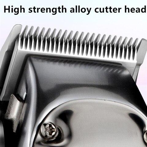 maquina de cortar cabelo barba eletrica dos homens