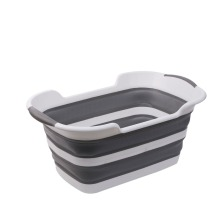 Foldable multi-function bathtub folding dirty clothes basket household pet sundries storage