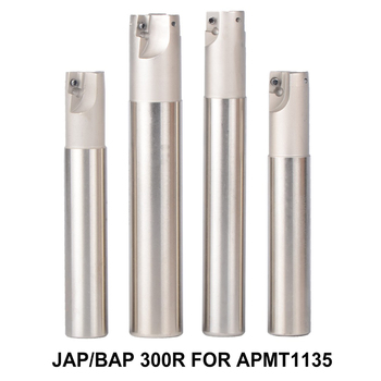 1PC BAP 300R milling cutter 120-250mm Milling tool holder face milling cutter for carbide insert APMT1135 APMT 1135PDR bap 300r c20 20 120 d20 length 120 milling tool holder face mill for cnc milling machine for insert apmt1135 apmt1135pdr apmt