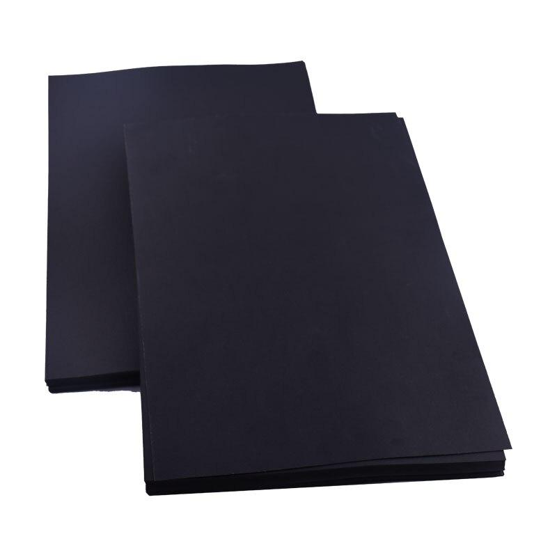 Купить с кэшбэком Blank Black Paper Graffiti DIY Handmade Paper A4 A3 8K 4K 80g 180g 300g Craft Paper Cardboard Blank Hand Drawing Sketch Paper