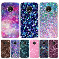Rhinestone Luxury Fitted Cover Phone Case For Motorola Moto G8 G7 G6 G5S G5 E6 E5 E4 Plus G4 Play EU One Action X4 Pattern Coque
