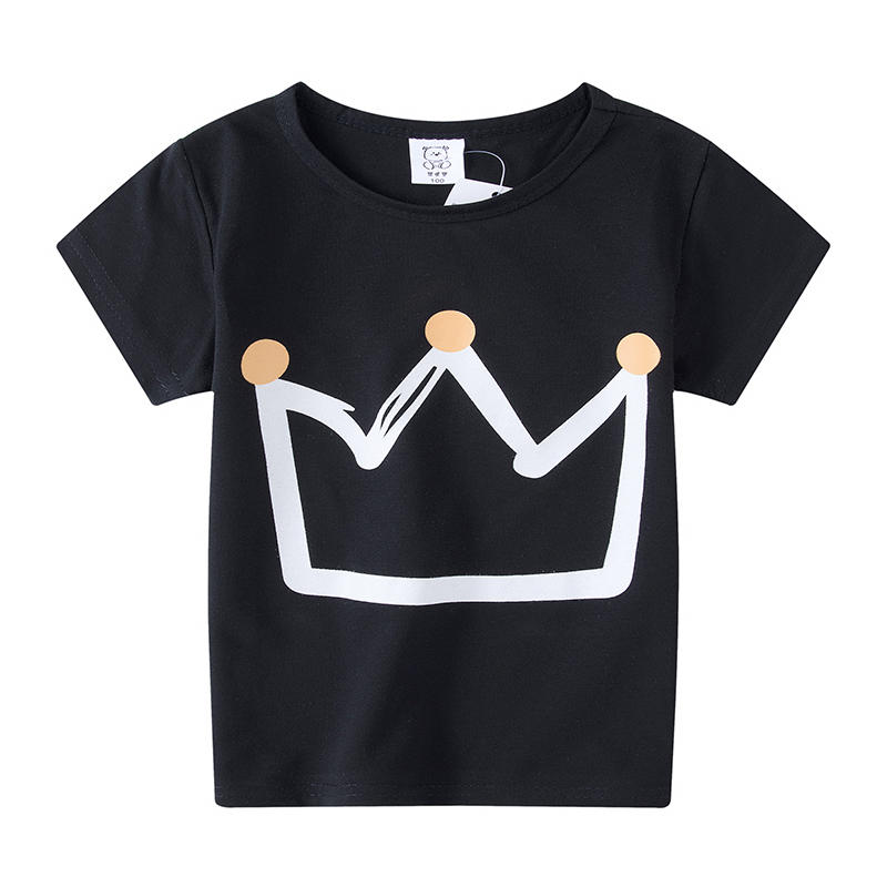 Cartoon T Shirt Kid New Summer Fashion T-shirt Children Tshirt Girl Boy Cute Tee Tops Clothing Girls Tops Baby Boy Clothes