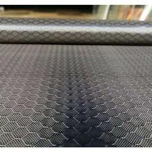 "Free shipping Football pattern Real Carbon Fiber Cloth 3K 240gsm 32"" / 82cm width Hexagonal Honeycomb Carbon Fabric"