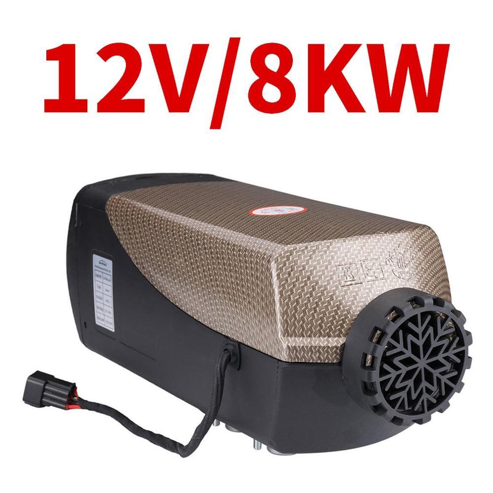 12V 5Kw/3Kw/8Kw Стоянкы Автомобилей Автомобиля Дизельный подогреватель воздуха автомобиля нагреватель для автомобиля грузовика прицеп для перевозки лодок универсальный дизельный Обогреватель - Название цвета: Liquid crystal